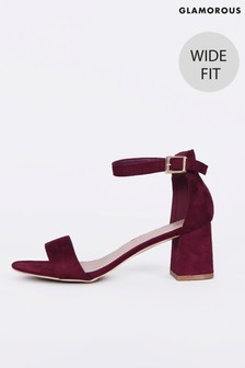 Glamorous Wide Fit Easy To Wear Sandals