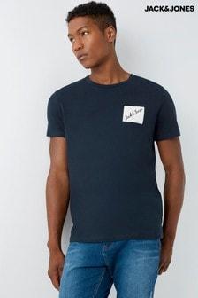 Jack & Jones Branded Logo T-Shirt
