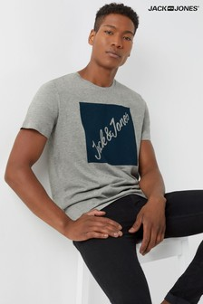 Jack And Jones Branded Logo T-Shirt