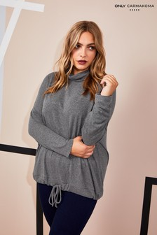 Only Carmakoma Roll Neck Jumper