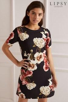 Lipsy Floral Shift Dress