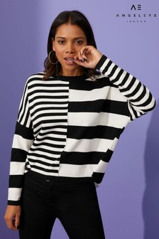 Angeleye Contrast Stripe Jumper