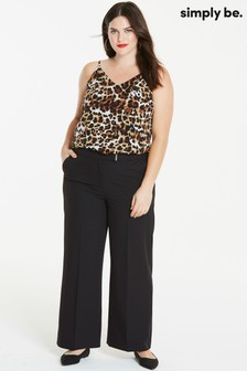 Simply Be Wide Leg Trousers