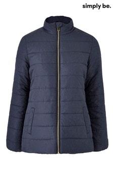 Simply Be Plain Padded Jacket