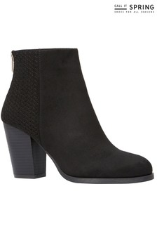 Call It Spring Block Heel Ankle Boots