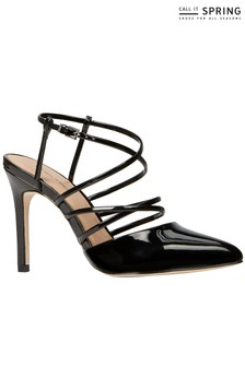 Call It Spring Cross Strap Closed Sandals