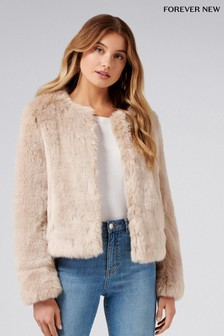Forever New Angel Fur Coat