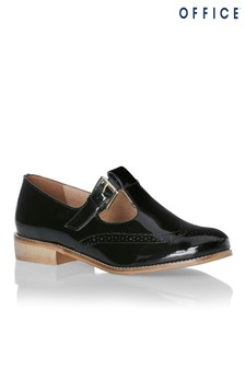 Office T-Bar Mary Jane Loafers