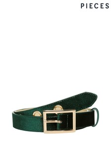 Pieces Velvet Jeans Belt