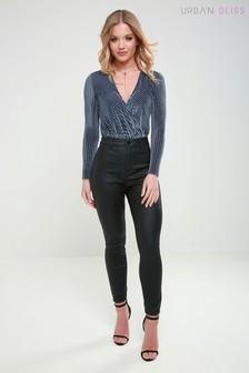 Urban Bliss High Waist Coated Skinny Jeans