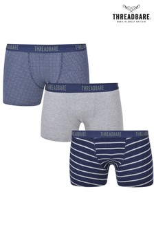Threadbare Pack of 3 Hipster Boxers