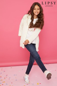 Lipsy Girl Cable Knit Cardigan