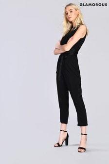 Glamorous Studio Tuxedo Style Jumpsuit