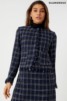 Glamorous Studio Tweed Blazer