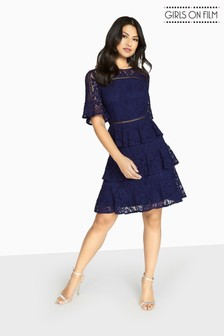 Girls On Film Lace Dress