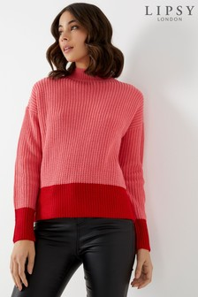 Lipsy Block Knitted Jumper