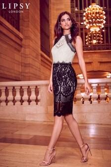 Lipsy VIP Lace Midi Dress
