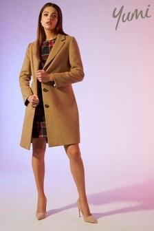 Yumi Crombie Coat