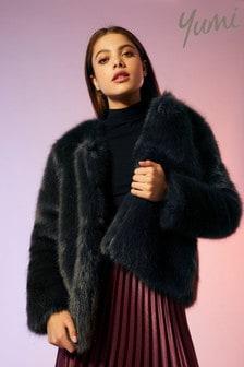 Yumi Faux Fur Coat