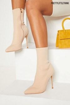 Prettylittlething Sock Neoprene Boot