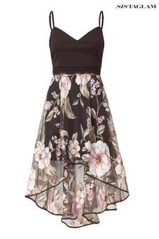 Sistaglam Floral Midi Dress