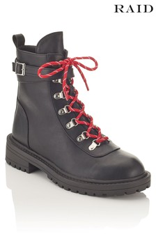 Raid Lace Up Hiker Boots