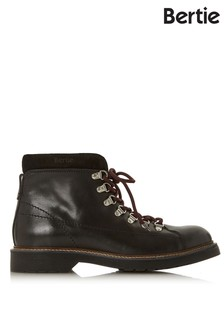 Bertie Leather Lace Up Boots