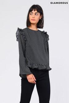 Glamorous Frill Sleeve Blouse