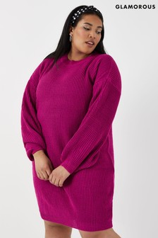 Glamorous Curve Knitted Dress