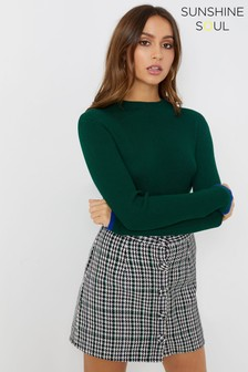 Sunshine Soul Ribbed Jumper