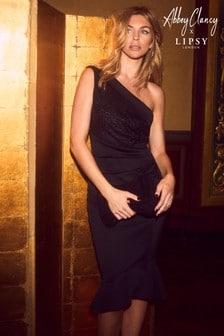 Abbey Clancy x Lipsy One Shoulder Bodycon Dress