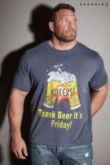 Bad Rhino Cheers Print T-Shirt