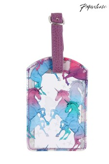 Paperchase Unicorn Luggage Tag