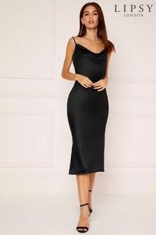 Lipsy Cowl Neck Cami Dress