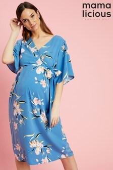 Mamalicious Maternity Woven Kimono Dress