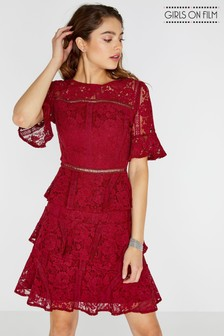 Girls On Film Lace Dress