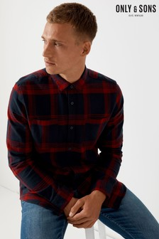 Only & Sons Long Sleeve Check Shirt