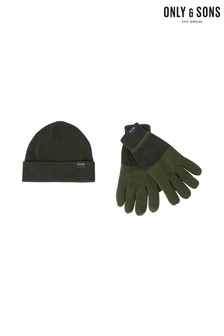 Only & Sons Glove Beanie Gift Set