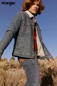 Wrangler Sherpa Denim Jacket