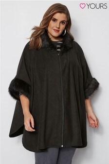 Yours Fleece Fur Wrap