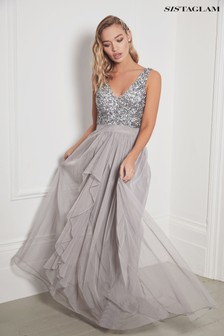 Sistaglam Maxi Skirt Dress
