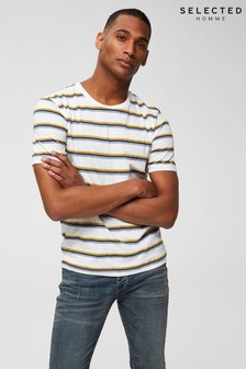 Selected Homme Striped T-Shirt