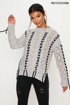 PrettyLittleThing Cable Knit Jumper