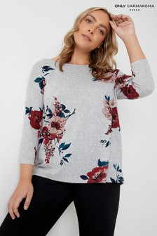 Only Carmakoma Floral Top