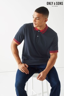 Only & Sons Polo T-Shirt With Tipped Collar