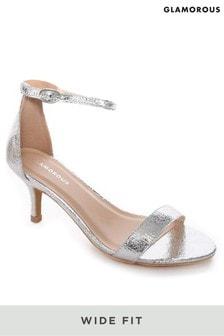 Glamorous Wide Fit Mid Heels