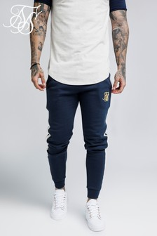 SikSilk Taped Fitted Joggers