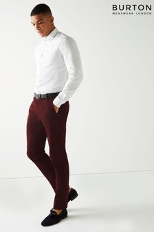 Burton Skinny Fit Stretch Chino Trousers