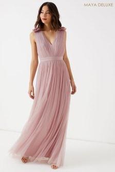 Maya Tulle Maxi Dress