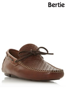 Bertie Embossed Driver Shoes